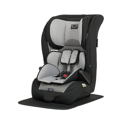 Babylove Ezy Grow Harnessed Car Seat - Silver Grey - Aussie Baby