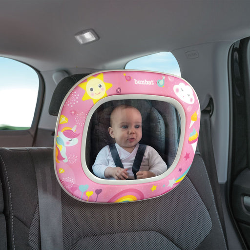 Benbat Night & Day Car Mirror - Magical Unicorn - Aussie Baby