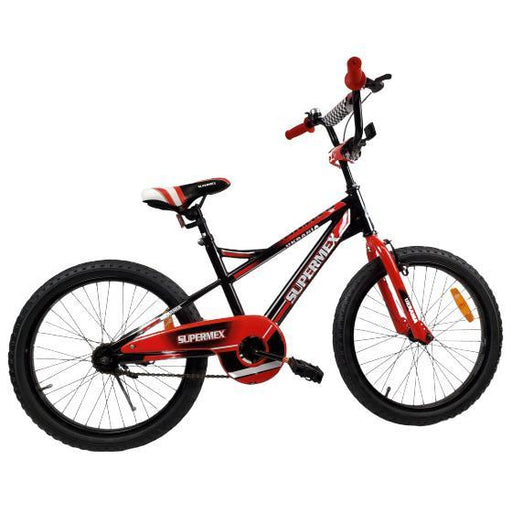 "Supermax Boys 20"" BMX Push Kids Bike - Red - Aussie Baby"
