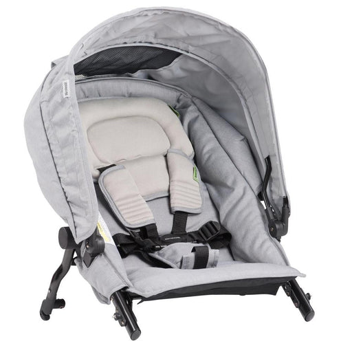 Steelcraft  Strider Compact Deluxe Edition Second Seat - Grey Linen - Aussie Baby