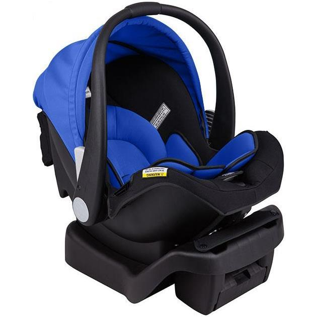 Arlo Infant Carrier and Car Seat - Black Blue