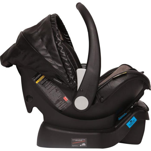 Infa Secure Arlo Vogue ISOFix Infant Carrier - Onyx - Aussie Baby