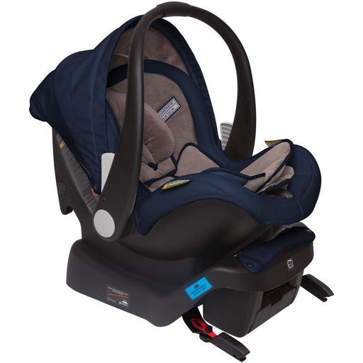 Infa Secure Arlo Vogue ISOFix Infant Carrier - Cobalt - Aussie Baby