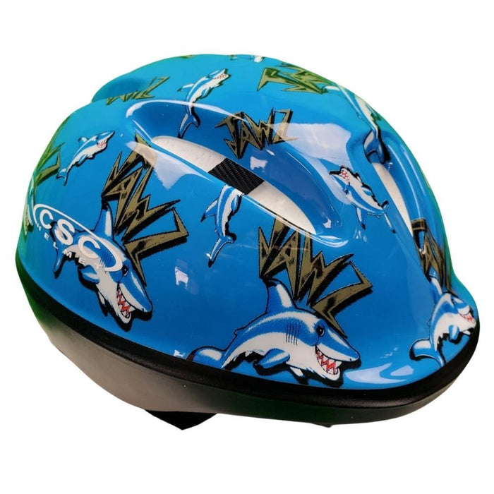 Aussie Baby CS2700 Child Helmet - Blue Shark