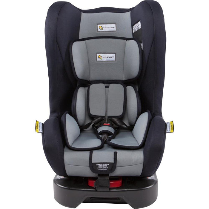 Infa Secure Aero Convertible Car Seat - Graphite - Aussie Baby