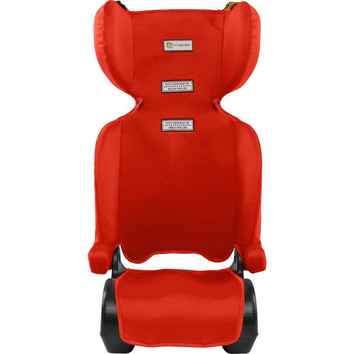 Infa Secure Versatile Folding Booster Seat - Red - Aussie Baby