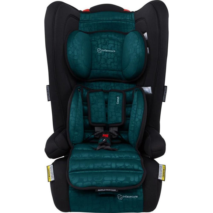 Infa Secure Comfi Element Convertible Booster Seat - Jade - Aussie Baby