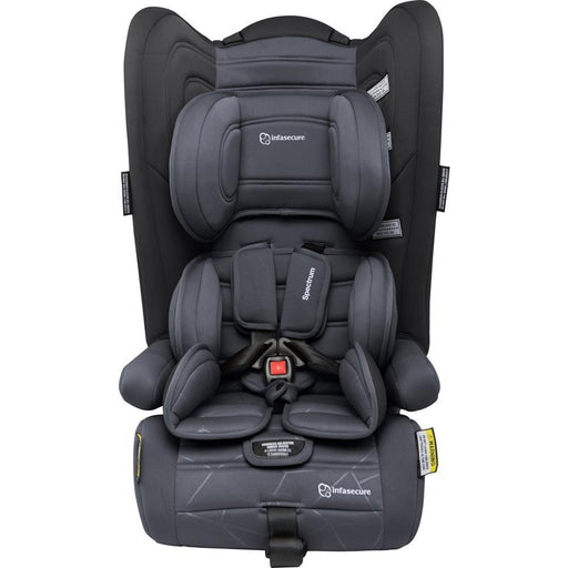 Infa Secure Spectrum Quantum Convertible Booster Seat - Charcoal - Aussie Baby