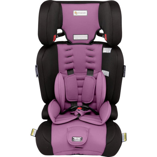 Infa Secure Visage Astra Convertible Booster Seat - Purple - Aussie Baby
