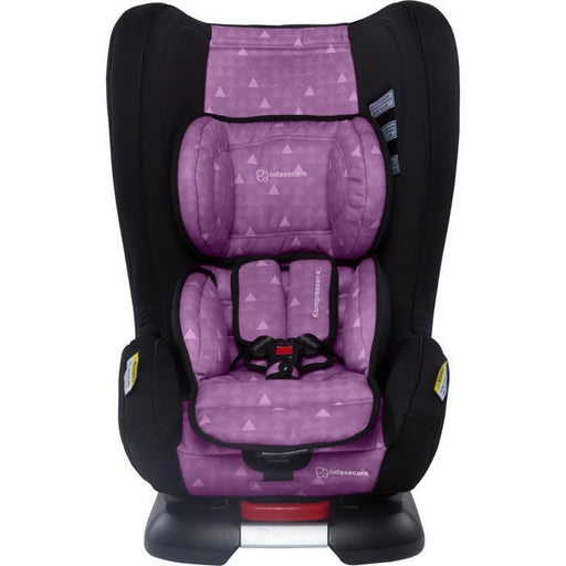 Infa Secure Kompressor 4 Treo Convertible Isofix Car Seat - Purple - Aussie Baby