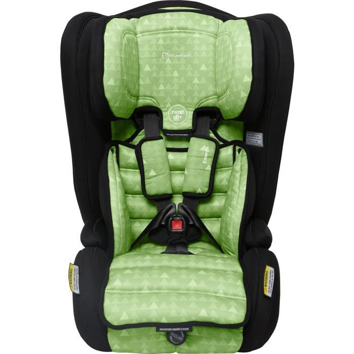 Infa Secure Emerge Treo Harnessed Booster Seat - Green