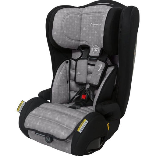 Infa Secure Emerge Treo Harnessed Booster Seat - Grey - Aussie Baby