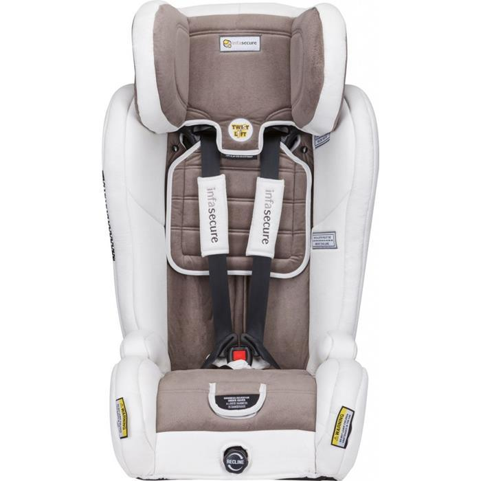 Infa Secure Evolve Vogue Car Seat - Ivory - Aussie Baby