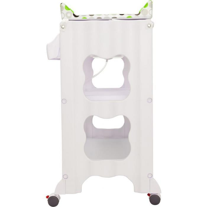 Infa Secure Cosmo Baby Bath & Change Centre - Green Circle - Aussie Baby
