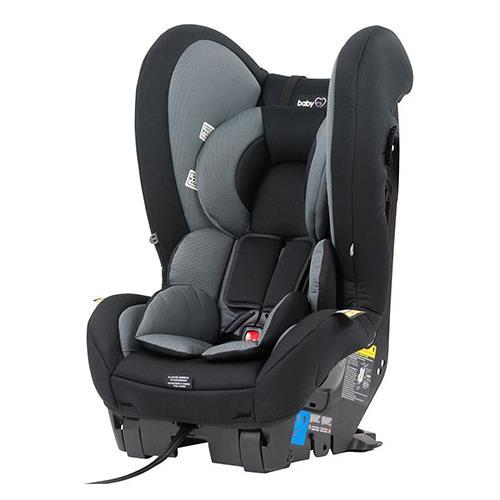 Baby Love COSMIC II Car Seat - Black - Aussie Baby