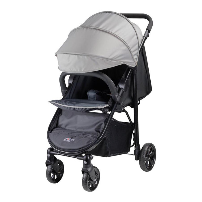 Mother's Choice Grace Stroller 4 Wheel - Dove Grey