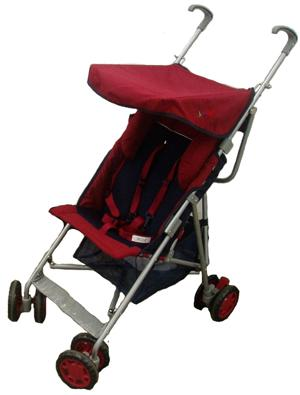 Baby Stroller with Head Support
