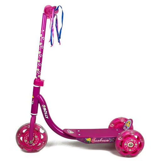 Girls Hot Pink 3 Wheel Scooter - Aussie Baby