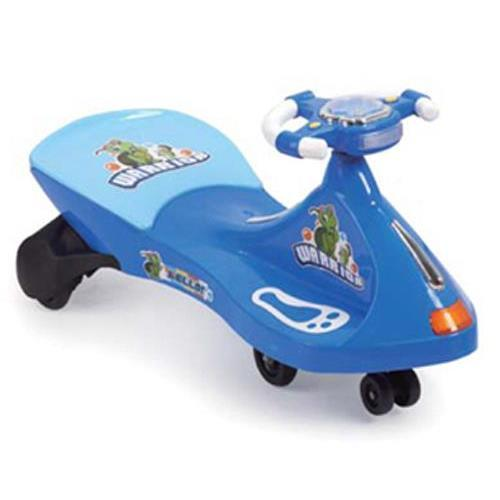 Turtle Warrior Kids Ride On Swing Car - Blue - Aussie Baby