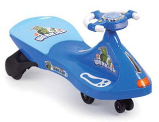 Turtle Warrior Swivel Car - Blue