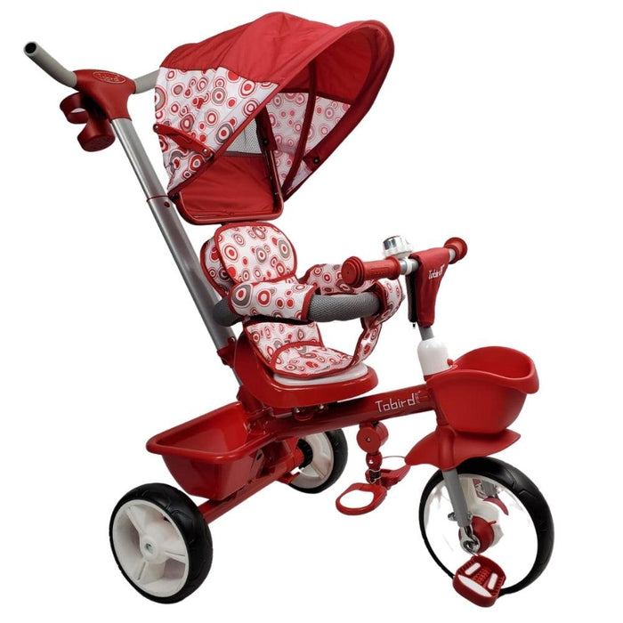 Kids Triangular Trike Canopy Plus - Red