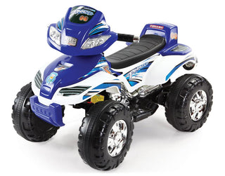 Mini Quad Bike 6V Battery Car - Blue