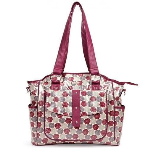 Bellotte Tote Nappy Bag - Autumn Rose - Aussie Baby