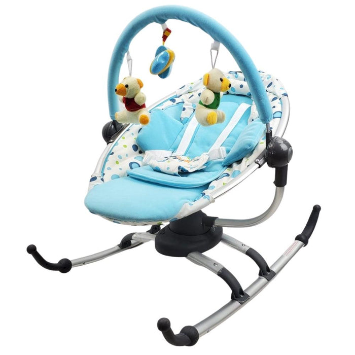 Rotating Baby Rocker - Blue