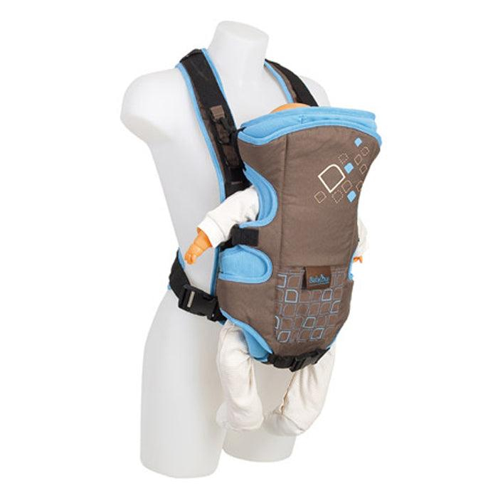Travel Baby Soft Pouch Carrier - Blue - Aussie Baby