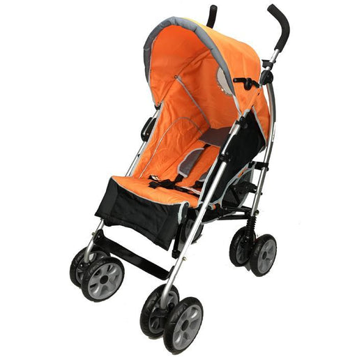 Aussie Baby Travel Easy Lightweight Stroller - Orange - Aussie Baby
