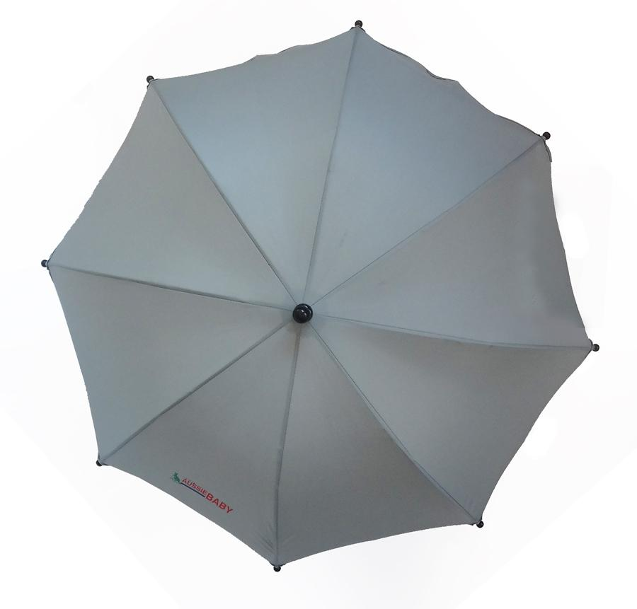 Aussie Baby Pram Umbrella - Grey