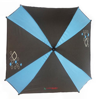Aussie Baby Pram Umbrella - Diamond Blue