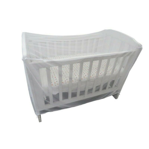Sweet Dreams Cot Insect Net White - Aussie Baby