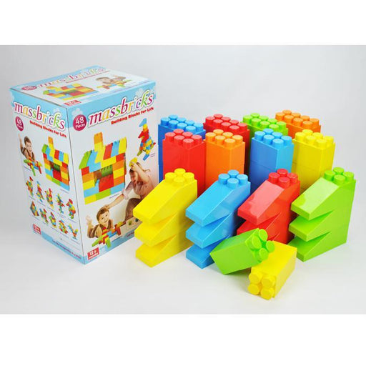 X-Large 48pcs Mass Bricks Building Block - Aussie Baby