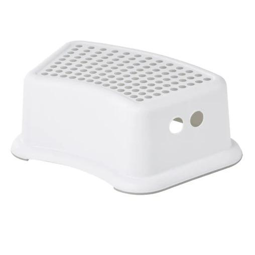 Big Softies Plastic Step Stool White - Aussie Baby