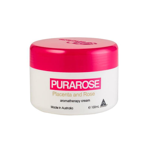 Purarose Placenta & Rose Aromatherapy Cream 100ml - Aussie Baby