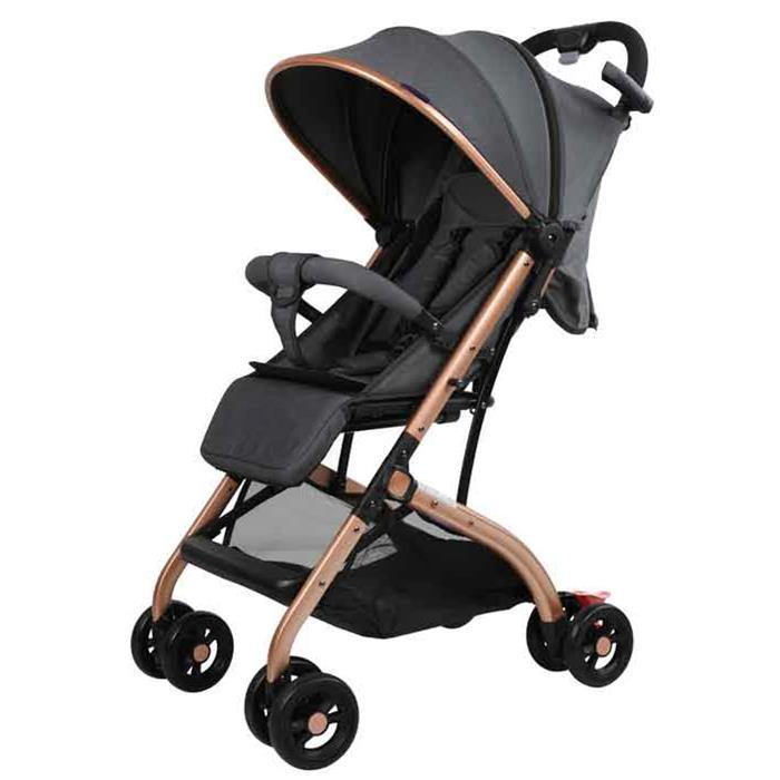Aussie Baby Smart Travel Pram - Grey - Aussie Baby