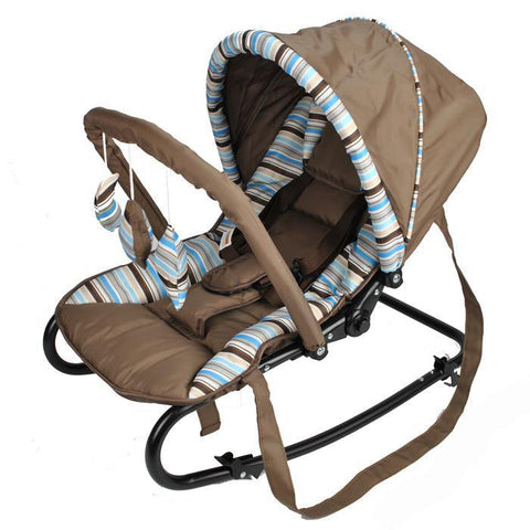 R01 Baby Rocker  - Cofee Brown