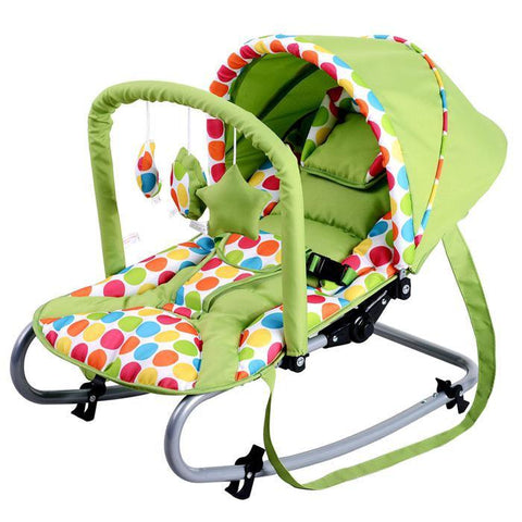 R01 Baby Rocker  - Grass Green
