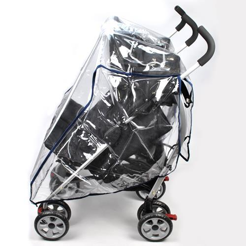 Rain Storm Cover - Side-By-Side Double Pram - Aussie Baby