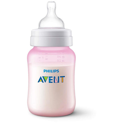 Philips Avent Classic+ Baby Bottles 260ml Pink 2-Pack - Aussie Baby