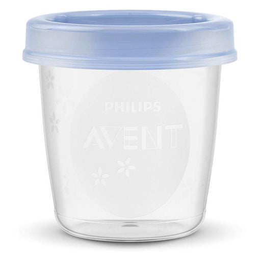 Philips Avent Reusable Breast Milk Storage Cups 180ml (10pcs) - Aussie Baby