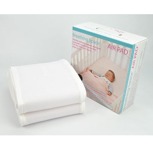 Sweet Dreams Air Pad - Standard Cot - White - Aussie Baby