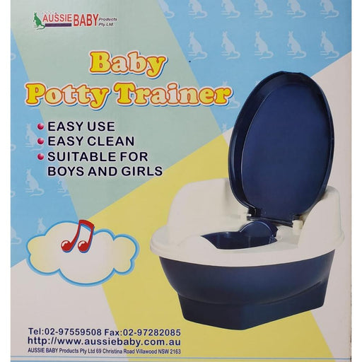 Aussie Baby Potty Trainer Chair - Blue - Aussie Baby