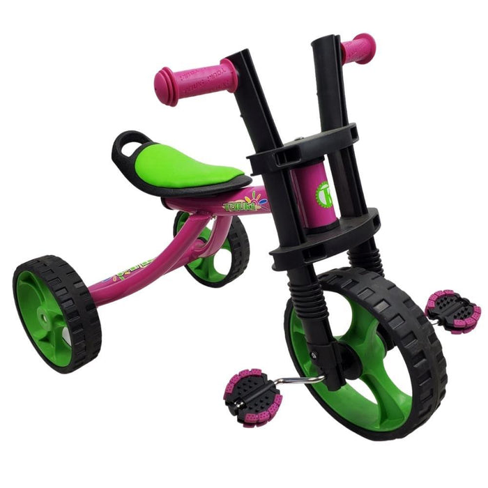 Supermax 12 Inch Kids Tricycle 3 Wheels Toodler Trike - Pink