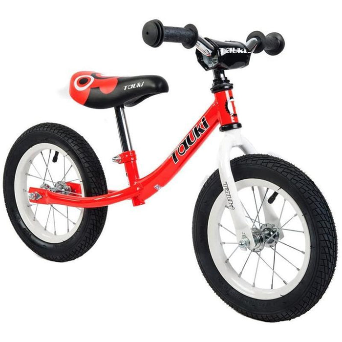 Kid Balance Bike No Pedal Push Bicycle 12 Inch - Red