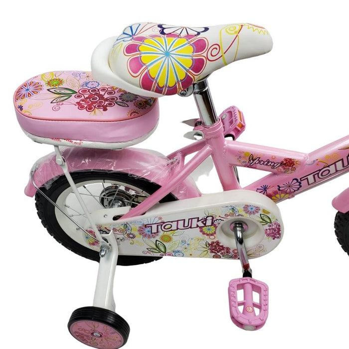Supermax Floral 16 Inch Kids Bike - Pink