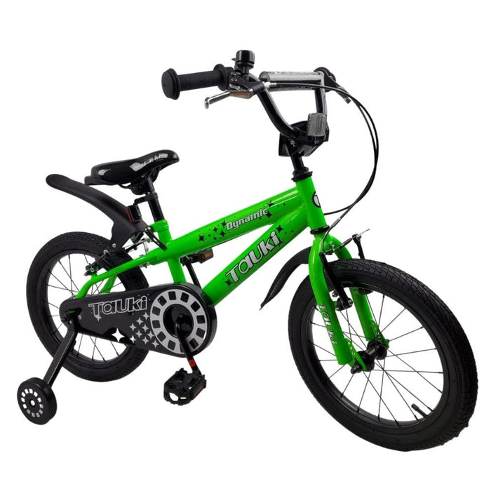 Supermax Dynamic 16 Inch Kids Push Bike - Green