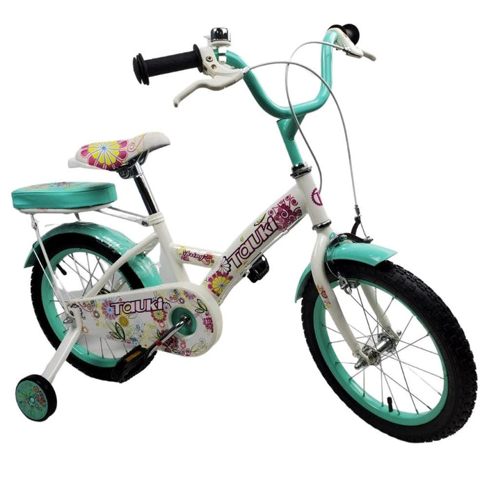 Supermax Floral 16 Inch Kids Bike - Aquamarine