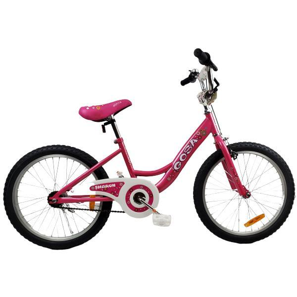 "Supermax Girls 20"" BMX Push Kids Bike - Pink - Aussie Baby"